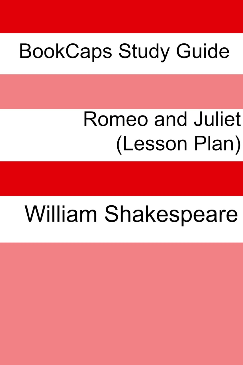shakespeare lesson plans romeo and juliet