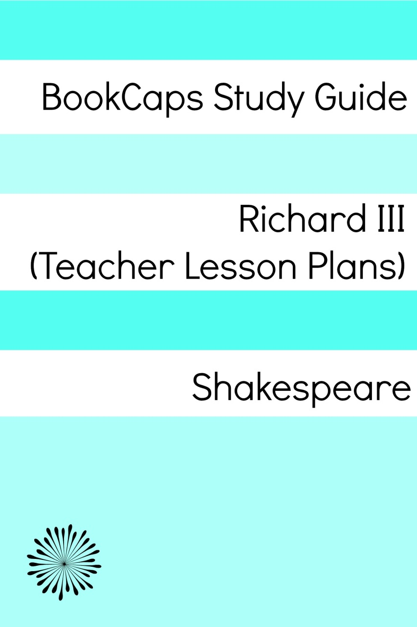 shakespeare lesson plans richard iii